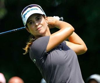 Picture of Beatriz Recari, 9 iron *